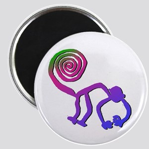 Nazca Monkey Groovy Colors Magnet