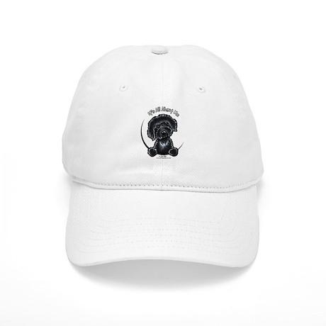 Black Labradoodle IAAM Cap