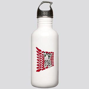 Snow Leopard Love Stainless Water Bottle 1.0L