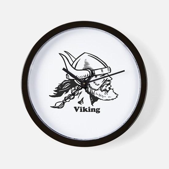 The viking Wall Clock
