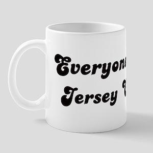 Loves Jersey City Girl Mug