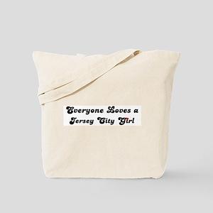 Loves Jersey City Girl Tote Bag