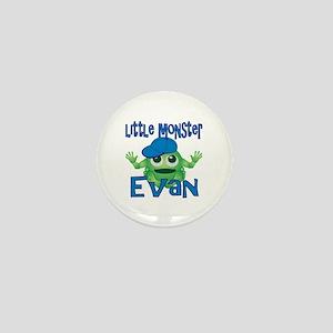 Little Monster Evan Mini Button
