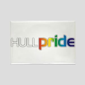 Hull Pride Rectangle Magnet