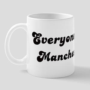 Loves Manchester Girl Mug