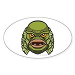 The Creature Sticker (Oval)