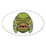 The Creature Sticker (Oval 50 pk)