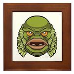 The Creature Framed Tile