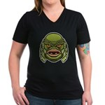 The Creature Women's V-Neck Dark T-Shirt