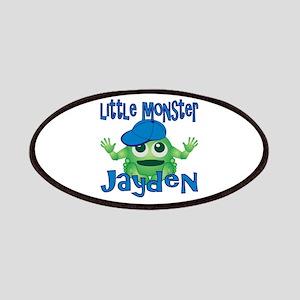 Little Monster Jayden Patches