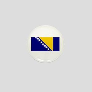 Bosnia & Herzegovina Flag Mini Button