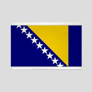 Bosnia & Herzegovina Flag Rectangle Magnet
