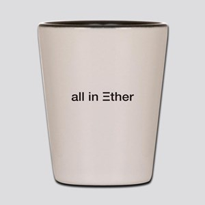 Ether ETH Crypto Currrency Blockchain t Shot Glass