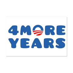 4 More Years Mini Poster Print