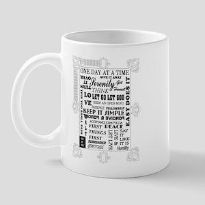 fancy frames slogans Mug