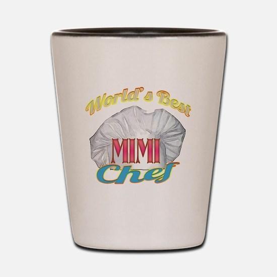 World's Best Mimi / Cook Shot Glass
