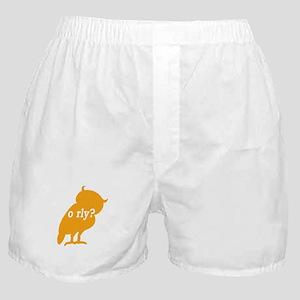 O RLY? Boxer Shorts