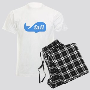 Fail Whale Men's Light Pajamas
