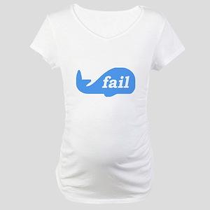 Fail Whale Maternity T-Shirt