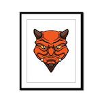 El Diablo Framed Panel Print