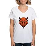 El Diablo Women's V-Neck T-Shirt