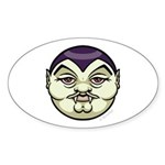Dracula Sticker (Oval 50 pk)