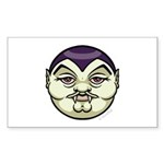 Dracula Sticker (Rectangle 10 pk)