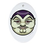 Dracula Ornament (Oval)