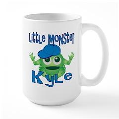 Little Monster Kyle Large Mug