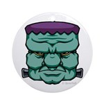 Frankenstein's Monster Ornament (Round)