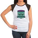 Frankenstein's Monster Women's Cap Sleeve T-Shirt