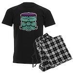 Frankenstein's Monster Men's Dark Pajamas
