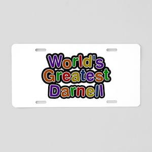 World's Greatest Darnell Aluminum License Plate
