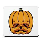 Jack-O'-Lantern Mousepad