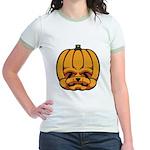 Jack-O'-Lantern Jr. Ringer T-Shirt