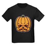 Jack-O'-Lantern Kids Dark T-Shirt