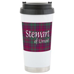 Tartan - Stewart of Urrard Stainless Steel Travel