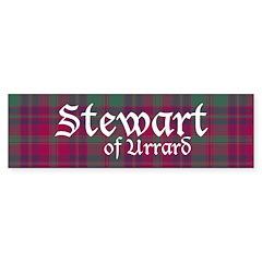 Tartan - Stewart of Urrard Sticker (Bumper)