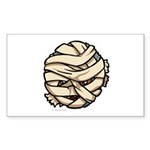 The Mummy Sticker (Rectangle 50 pk)