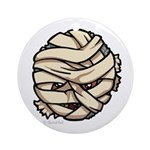 The Mummy Ornament (Round)