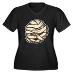 The Mummy Women's Plus Size V-Neck Dark T-Shirt