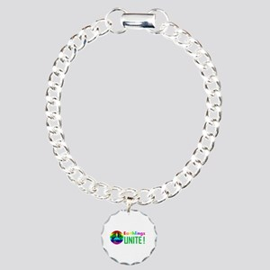TF Designs - Unite Earth Charm Bracelet, One Charm