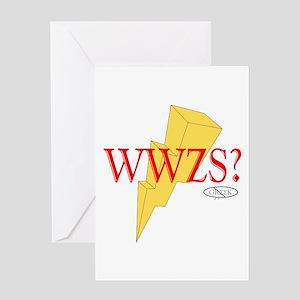 WWZS? Greeting Card
