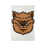 The Werewolf (Brown) Rectangle Magnet