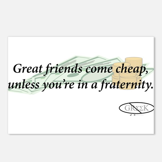 Cheap Friends Postcards (Package of 8)