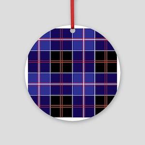 Dunlop Tartan Ornament (Round)