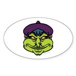 The Witch Sticker (Oval 10 pk)