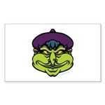 The Witch Sticker (Rectangle 10 pk)