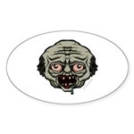 The Zombie Sticker (Oval 10 pk)