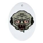 The Zombie Ornament (Oval)